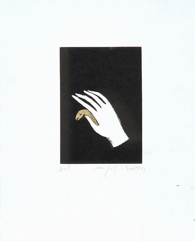 "Mimmo Paladino, 'Untitled (from the portfolio ""Ulysses 16 June 1904"")', 1994"