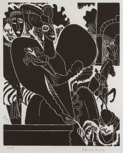 Edward Burra, 'Royal Favourites', 1971