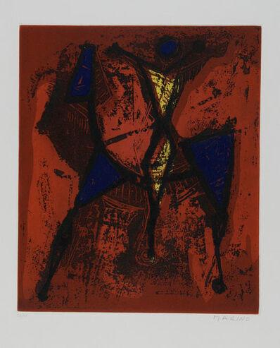 Marino Marini, ' Cavaliere I', 1972