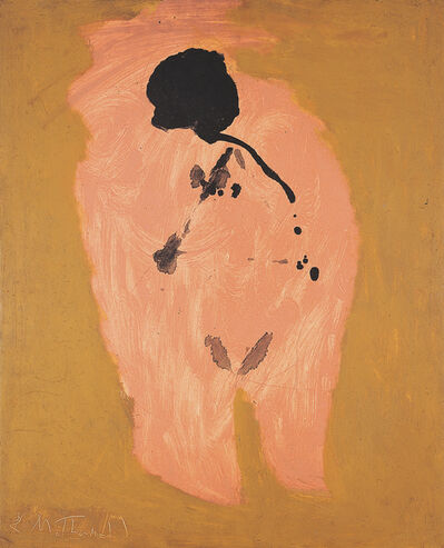 Robert Motherwell, 'Pink Nude with Bowed Head', 1958