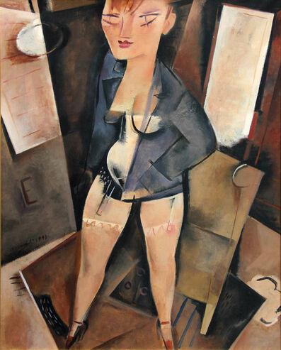 ALBERTO MANFREDI, 'Modella nello studio', 1993