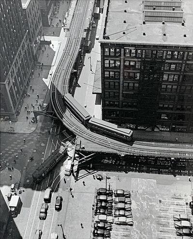 Andreas Feininger, 'Street Scene, Chicago', n.d.