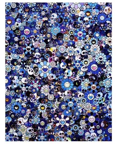 Takashi Murakami, 'Skulls and Flowers', 2016
