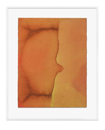 Jason Martin, 'Untitled (Pale orange)', 2020