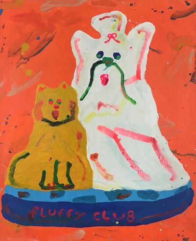 Misaki Kawai, 'Fluffy Club', 2017
