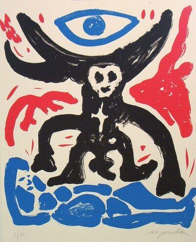 A.R. Penck, 'Pilatus, Adam und Eva und das Auge Gottes', 1990-2000