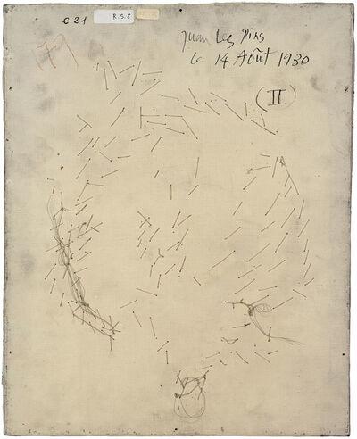 Philippe Gronon, 'Verso n°55, Visage aux deux profils, par Pablo Picasso, collection Musée national Picasso, Paris', 2016