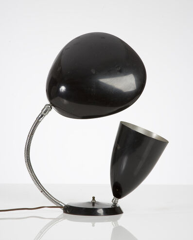 """Greta Magnusson Grossman, 'Table lamp with one cone shade and one """"Cobra"""" shade', 1950"""
