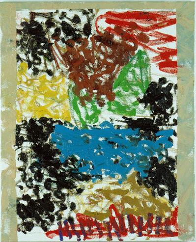 "Markus Lüpertz, '""Semiramis - Holunder""', 2002"
