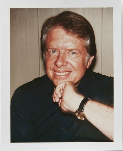 Andy Warhol, 'Andy Warhol, Polaroid Portrait of Jimmy Carter', 1976