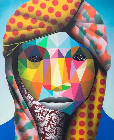 Okuda San Miguel, 'Lost Refugee 3', 2016