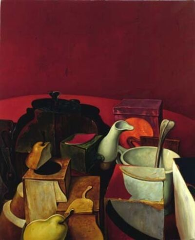 Samuel Bak, 'Red Still Life', 1985