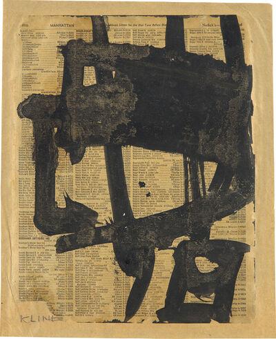 Franz Kline, 'Untitled', circa 1950
