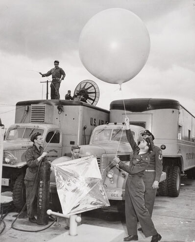 Margaret Bourke-White, 'Strategic Air Command, Carswell Air Force Base, Texas', 1951