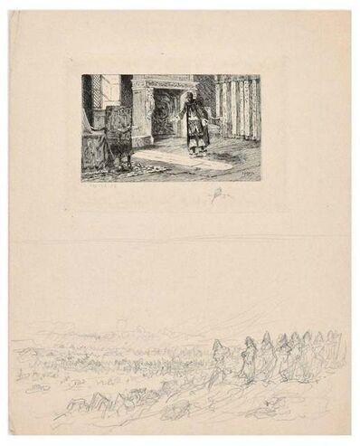 Charles Louis Kratke, 'Interior Scene', 1880s
