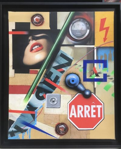 Peter Klasen, 'Arrêt', 2018