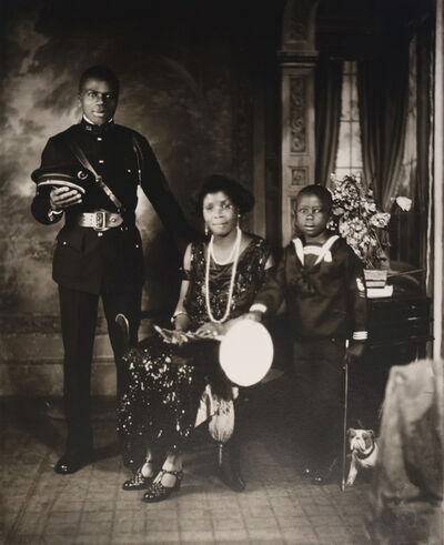 James Van Der Zee, 'VIII: Garveyite Family, Harlem', 1924