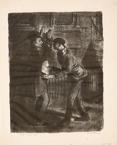 George Wesley Bellows, 'The Hold Up (Second State)', 1921