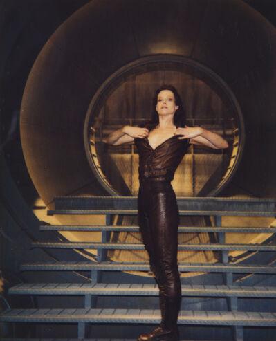 """Helmut Newton, 'Sigourney Weaver in """"Alien"""", Los Angeles', 1991"""