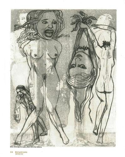 Pat Andrea, 'Klinger suite (44 Horror)', 2012