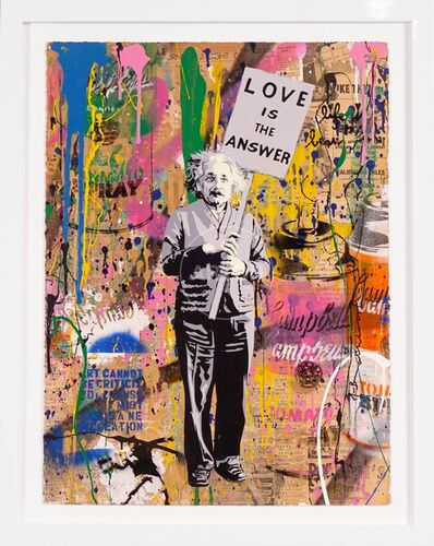 Mr. Brainwash, 'Einstein (Unique)', 2019