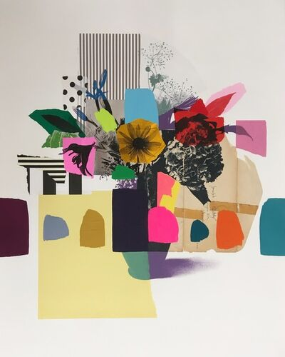 Emily Filler, 'Paper Bouquet (vintage envelope)', 2019