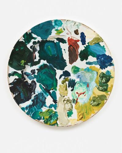 Piotr Nathan, 'Farbensammler/colourcollector', 1990