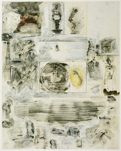 Robert Rauschenberg, 'Dante's Inferno - The Cocytus, a Lithograph by Robert Rauschenberg', 2017