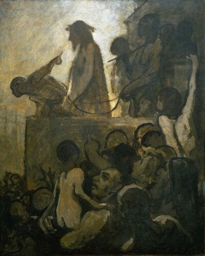 Honoré Daumier, 'Ecce homo', 1850