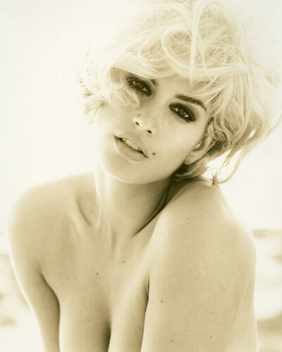 Herb Ritts, 'Cindy Crawford - Blonde, Malibu', 1993