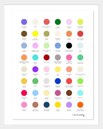 Nelson De La Nuez, 'Life's Little Palette/ It's All Fabulous', 2020