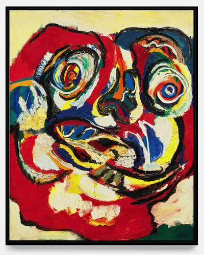 Karel Appel, 'Portrait ', 1966
