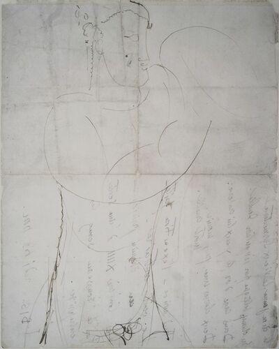Amedeo Modigliani, 'Torso d'atleta', 1910