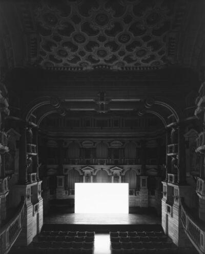 Hiroshi Sugimoto, 'Teatro Scientifico del Bibiena, Mantoba', 2015