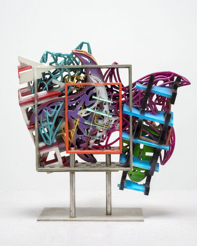 Frank Stella, 'Framed Model for the Frigate Macedonian HBM and the Frigate United States 1', 2017