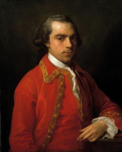 Pompeo Batoni, 'Portrait of a Gentleman', ca. 1762