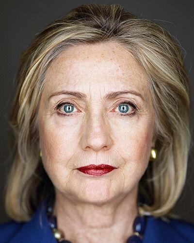 Martin Schoeller, 'Hillary Clinton'