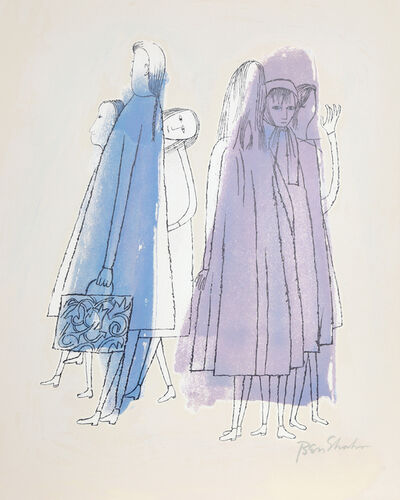 Ben Shahn, 'To Days of Childhood from the Rilke Portfolio', 1968