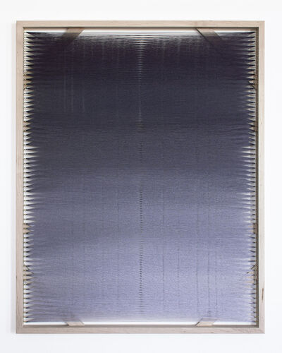 Rachel Mica Weiss, 'Woven Screen, Fog Gradient X', 2020