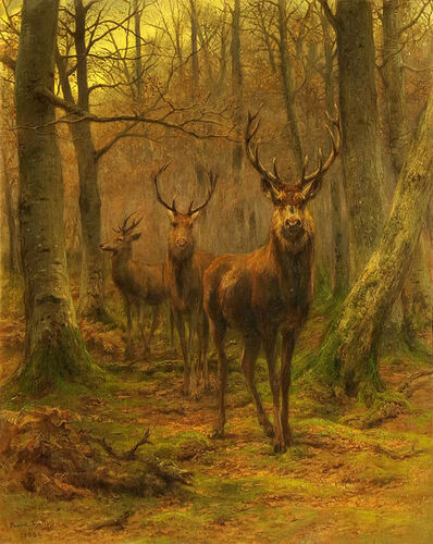 Rosa Bonheur, 'Monarch of the Forest', 1886