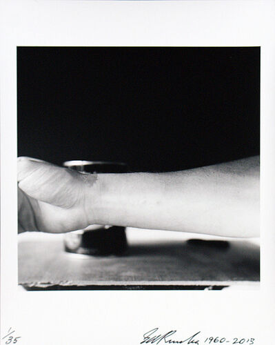 Ed Ruscha, 'Self-Portrait of My Forearm 1960 andSelf-Portrait of My Forearm 2014', 1960-2014
