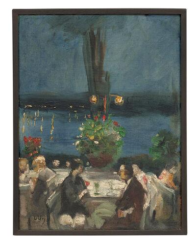 Lesser Ury, 'An der Havel in einem Gartenrestaurant', ca. 1925