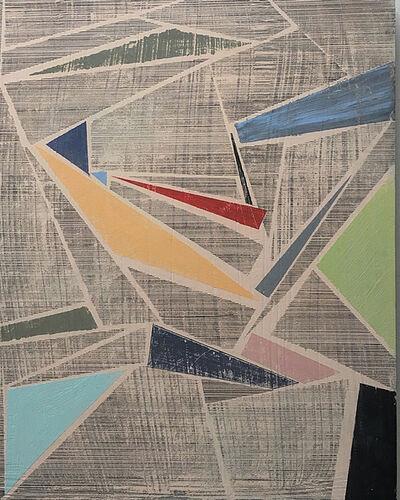 Hanna ten Doornkaat, 'Lines as points in space', 2017