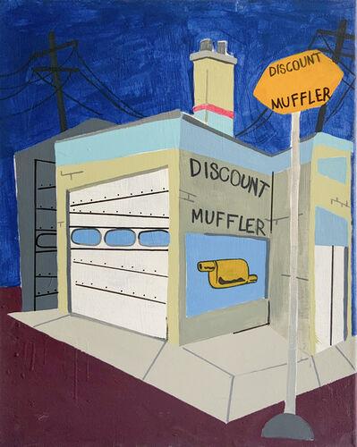 Nick Pizaña, 'Discount Muffler Shop', 2021