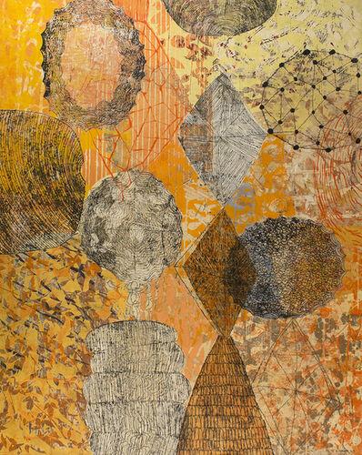 Eva Isaksen, 'Seeds And Fields Of Orange', 2014