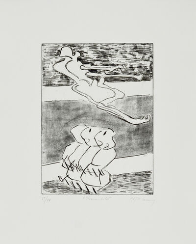 Maria Lassnig, 'Strassenbild', 1987