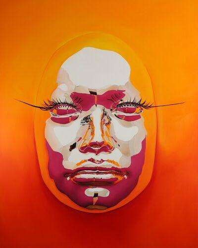 Kip Omolade, 'Diovadiova Chrome Sasha I', 2018