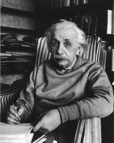 Alfred Eisenstaedt, 'Albert Einstein, Princeton, New Jersey', 1949