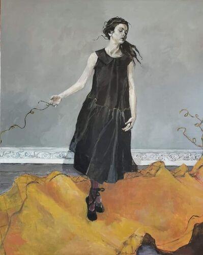 "Ingebjorg Stoyva, '""Pulled rug""', 2020"
