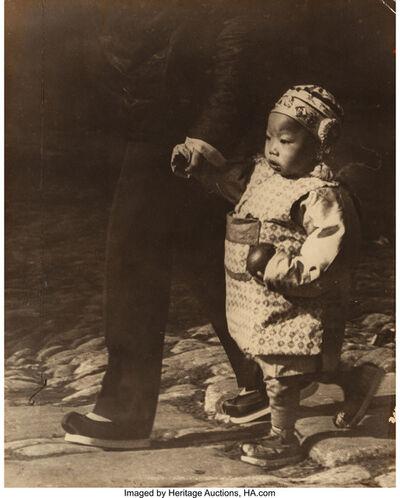 Arnold Genthe, 'San Francisco, Chinatown (three photographs)', circa 1895
